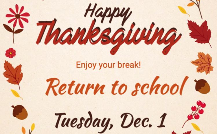 Thanksgiving Break - article thumnail image